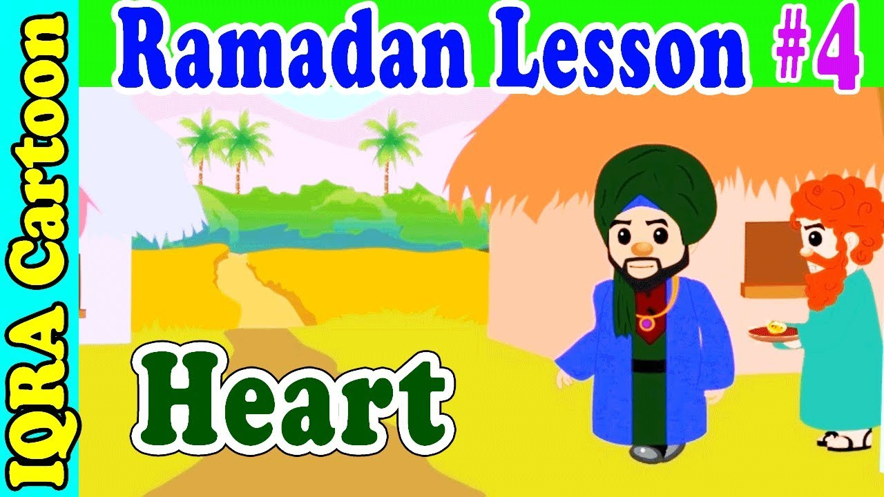 Fasting with Heart  : Ramadan Lesson Islamic Cartoon for Kids Ep #4