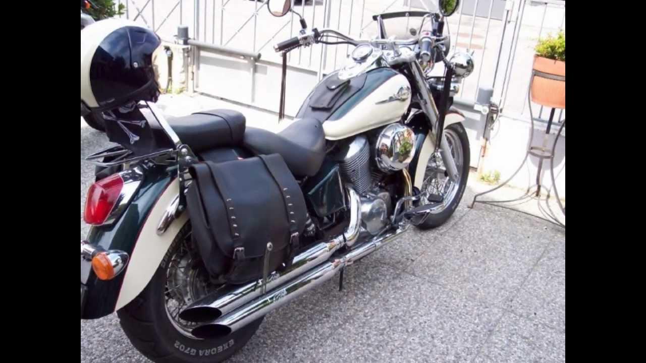 Honda shadows 750 custom american classic edition youtube for American classic customs