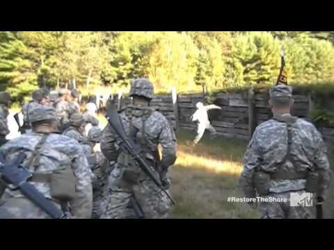 Drill Sergeant scares the shit out of soldiers