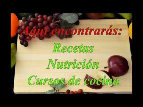 Curso de cocina vegetariana youtube - Curso de cocina vegetariana ...