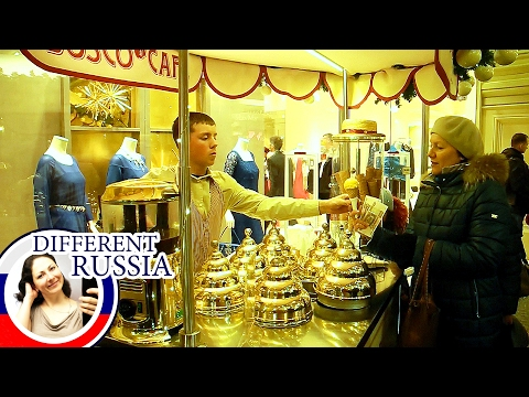 Inside Moscow's Most Famous & Expensive Shopping Mall. What Is A Must For Any Tourist There?