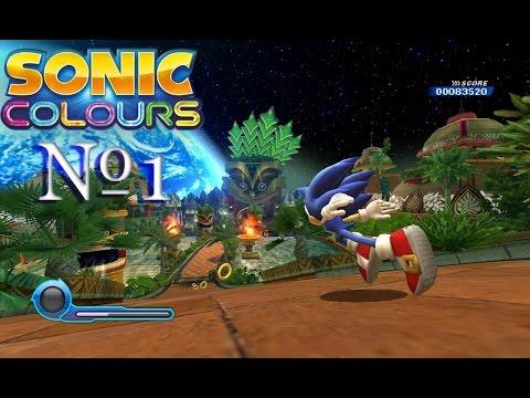 Прохождение Sonic Colors #1 (русская озвучка)