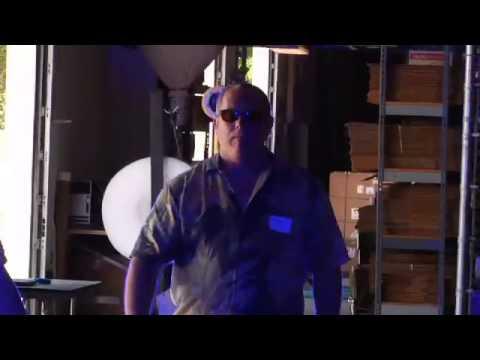 Underwater Optical Communication Testing in Florida