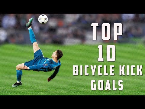 Top 10 Bicycle Kick Goals Of All Time With Commentary HD