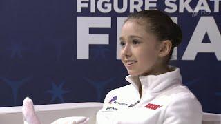 Российская фигуристка Камила Валиева завоевала золотую медаль в финале Гран при среди юниоров