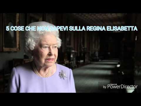 TOP 5 - Cose che non sapevi sulla Regina Elisabetta