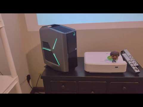 Alienware Aurora R7 4.8GHZ OC i7 2x Nvidia GTX 1080ti SLI OC Gaming PC Unboxing