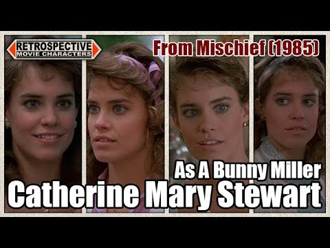 Catherine Mary Stewart As A Bunny Miller From Mischief 1985