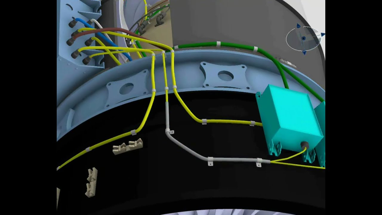 maxresdefault catia v6 electrical wire harness generation from 2d & 3d logical wire harness designer at virtualis.co