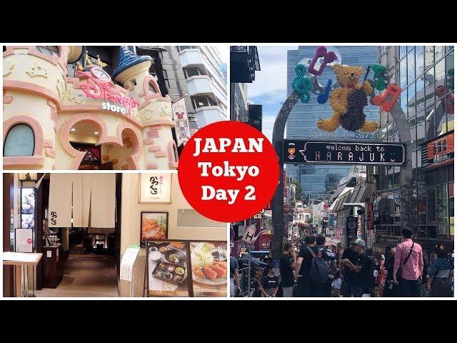 JAPAN VLOGS - Tokyo. Shopping at Harajuku, Shibuya & Shinjuku. Disney Store and Dinner at Katsukura