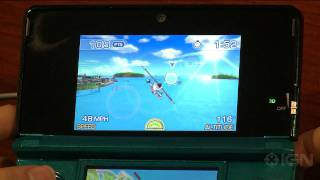 PilotWings Resort 3DS: On the Rocks Gameplay