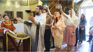 Видеоклип венчания в храме иконы Божией Матери «Знамение» в Киеве