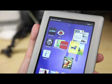 Barnes & Noble Nook Tablet Video Review