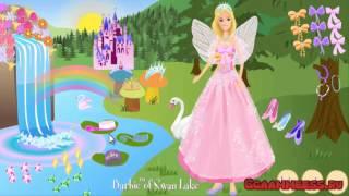Игры для девочек Барби Лебединое озеро