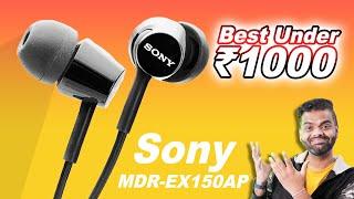 Best Earphones Sony MDR-EX150AP Music Pubg Gaming