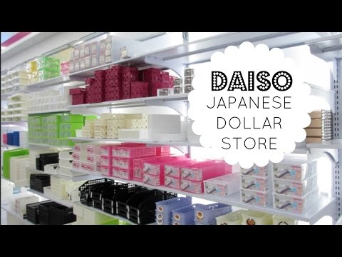 JAPANESE DOLLAR STORE |  Daiso Store Tour & Organizing Ideas!