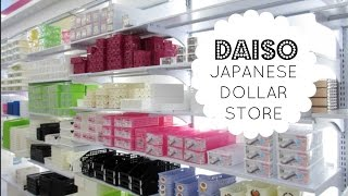 JAPANESE DOLLAR STORE |  Daiso Store Tour & Organizing Ideas!