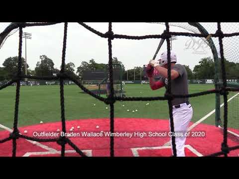 Outfielder Braden Wallace Wimberley High School Class of 2020