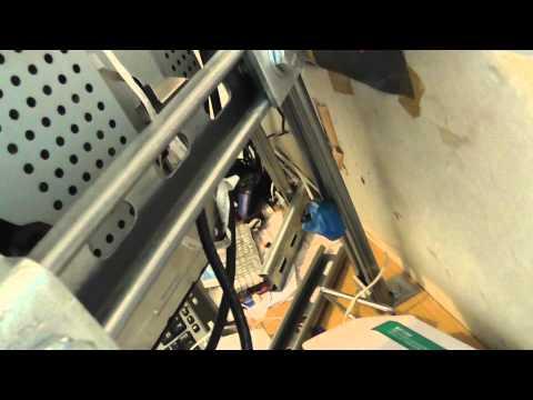 Custom triple monitor mount