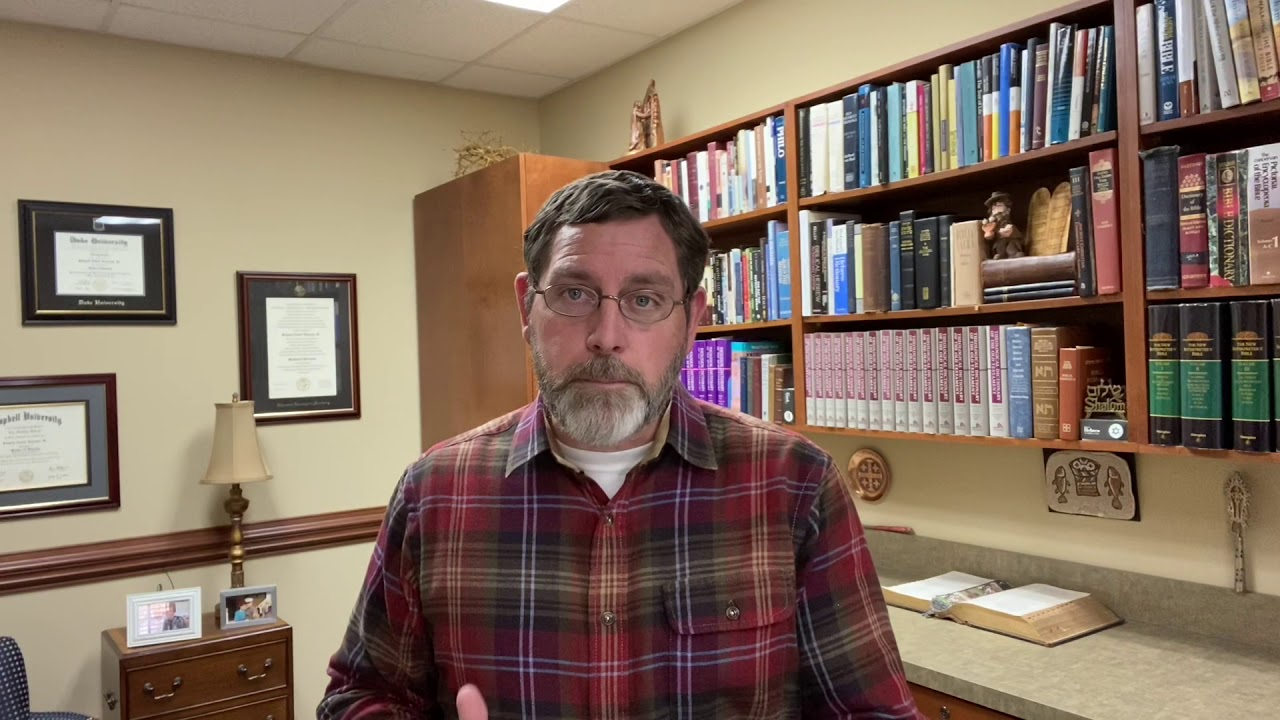 Video Message from Pastor Rit 01/20