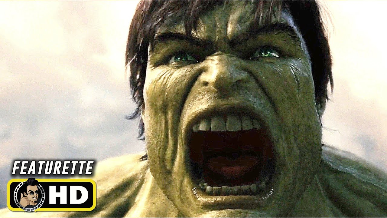 THE INCREDIBLE HULK (2008) Campus Battle Behind the Scenes [HD] Marvel Featurette