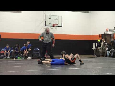 Nathan 2 vs Whitefish Bay Middle School  – Longfellow Wrestling Match