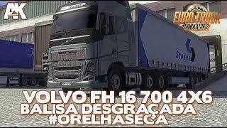 ETS 2 + TSM: Volvo FH16 6x4 BALISA DESGRAÇADA