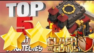 Top 5 TH10 With Laloons Attack, 3 Stars TH10 With Laloons Attack