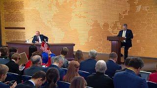 """Владимир Путин: """"Никакой новой пенсионной реформы не готовится и даже не обсуждается"""""""