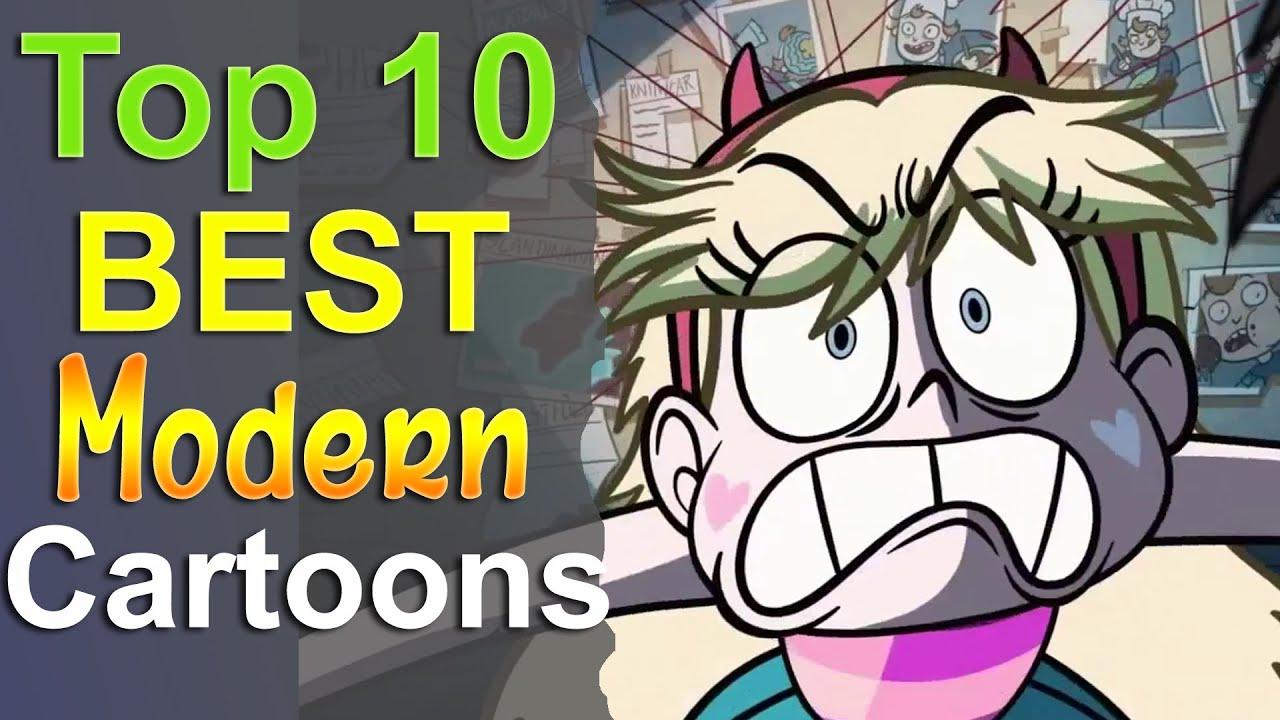 Top 10 Best Modern Cartoons - YouTube