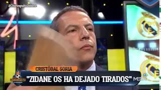 Cristóbal Soria SE QUEDÓ A GUSTO: