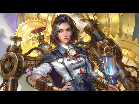 🔴One Hour Of Steampunk Music - Steam-Powered Orchestra By Michael Ghelfi