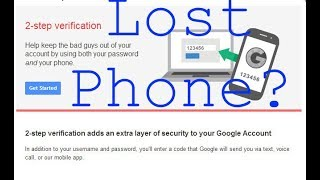 Two-factor authentication (2FA)  for Cryptocurrency - Lost Phone