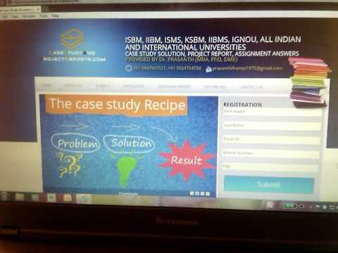 iibms case study answers