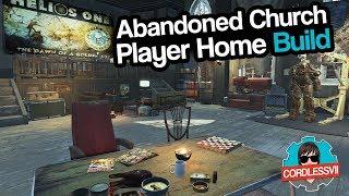 Fallout 4 | Far Harbor Abandoned Church Build