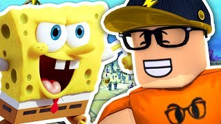 PLAYING ROBLOX WITH SPONGEBOB!!