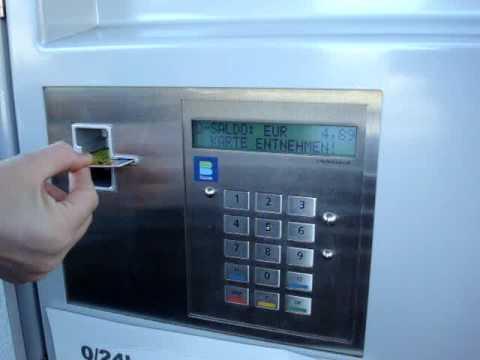 Checkin Automat Beschreibung