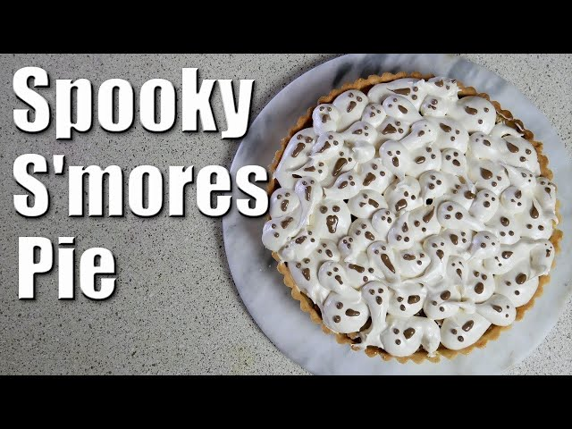 Spooky S'mores Pie | Baking With ChefJohnReed | Halloween
