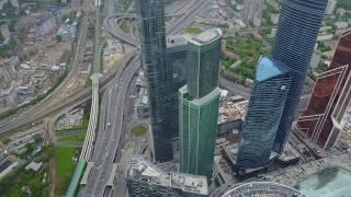 DJI Mavic Pro. Москва Сити. Полёт выше облаков.
