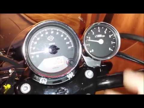 HOW TO: Install a Tachometer Harley Davidson Street 750 XG ... Harley Dual Fire Tachometer Wiring Diagram on