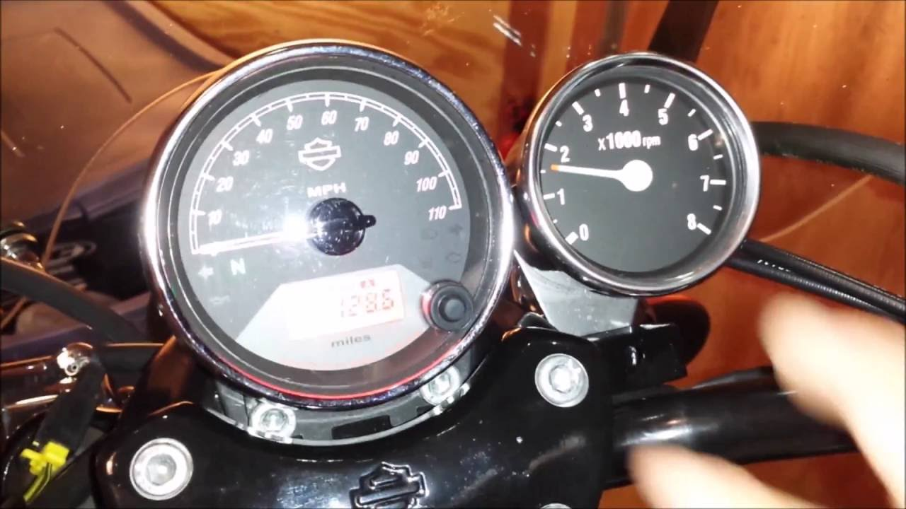 Harley Sportster Wiring Diagram Electrical Diagrams Residential How To Install A Tachometer Davidson Street 750 Xg Youtube