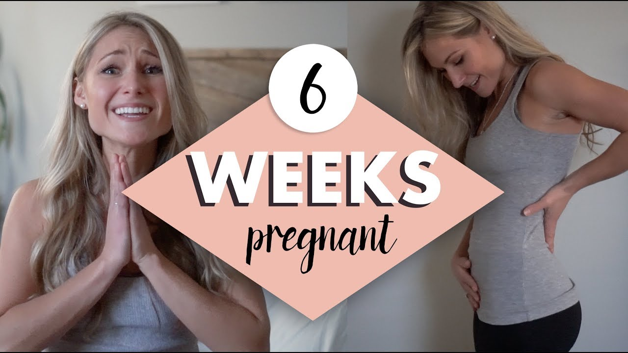6 Weeks Pregnant My Symptoms Emotions And Belly S