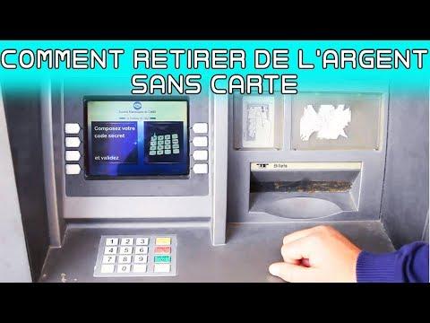 Comment Retirer de l'argent sans carte - Poste Algerie
