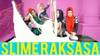 DIY Slime Raksasa - Slime Kami Lebih Besar - Gen Halilintar Girls