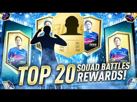 20TH IN THE WORLD! - TOP 100 SQUAD BATTLE REWARDS! FIFA 19 Ultimate Team thumbnail