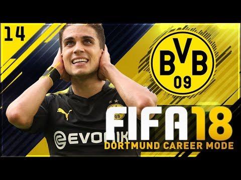 FIFA 18 Dortmund Career Mode Ep14 - I DON'T LIKE IT!!