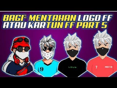 Bagi Bagi Mentahan Kartun Ff Animasi Free Fire Bagi Logo Maskot Freefire Gratis Logo Esport Youtube