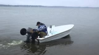 設計~施工まで完全オリジナルのFRPボート。 長さ3・4m 幅1・6m ...