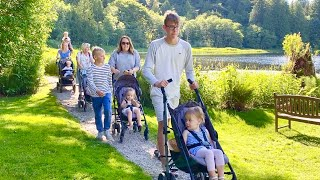 Big Family Adventure - Traveling With Toddlers