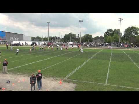 #5 Michael Cooper 2012 OVFL Bantam Football Highlights